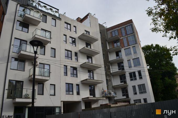 Хід будівництва ЖК Бейкер Стріт. Шерлок Холмс, Будинок 2, вересень 2020