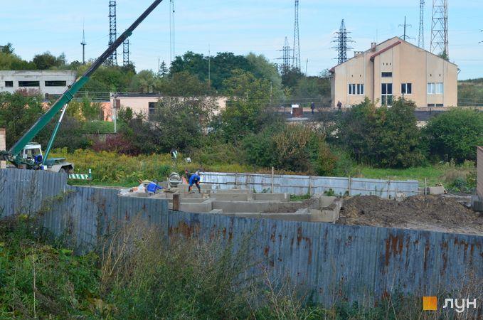 Хід будівництва ЖК Вілла Італія, 7-8 будинки, вересень 2020