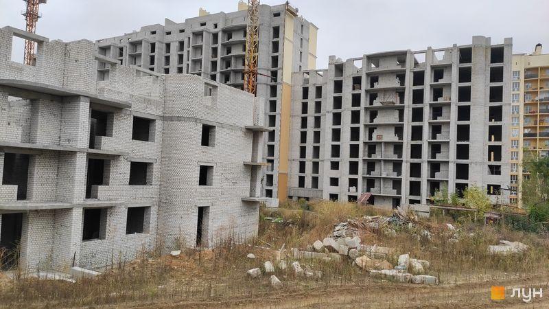 Ход строительства ЖК Чайка, ул. Лобановского, 30 (секция В), сентябрь 2020