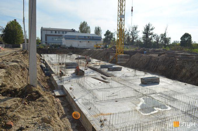 Ход строительства ЖК Шенген, 11 дом, октябрь 2020