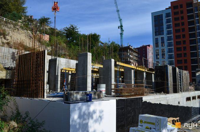 Ход строительства ЖК Семицвет, 17 дом, октябрь 2020