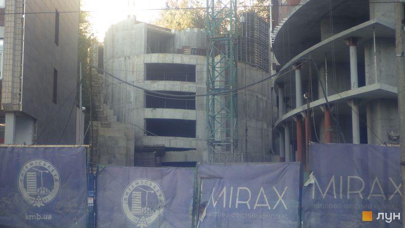 Ход строительства ЖК Mirax, , октябрь 2020