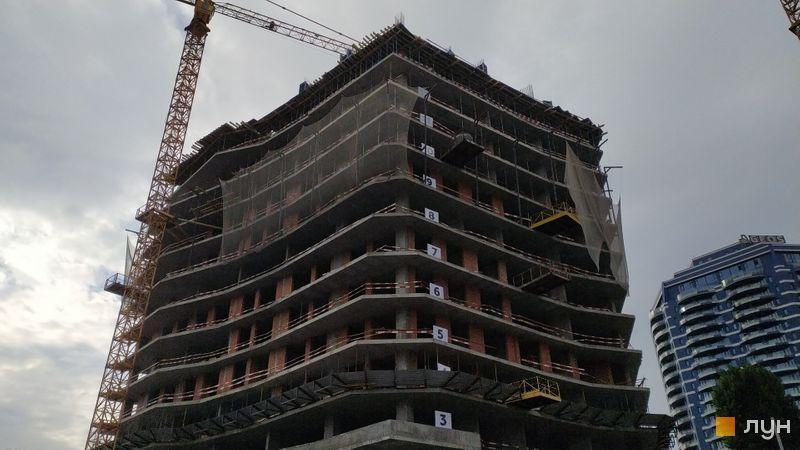Хід будівництва ЖК Diadans, 1 будинок, жовтень 2020