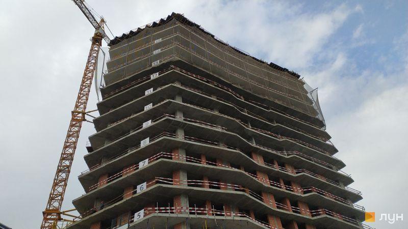Хід будівництва ЖК Diadans, 2 будинок, жовтень 2020