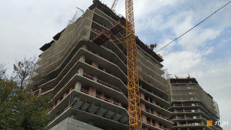 Хід будівництва ЖК Diadans, 1, 2 будинки, жовтень 2020
