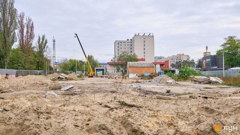 Хід будівництва ЖК Passage Park, , жовтень 2020