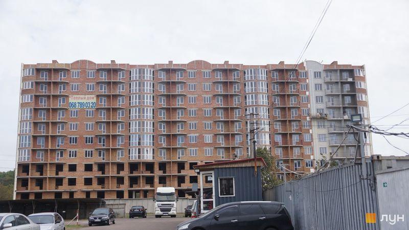 Ход строительства ЖК Теплый дом, 2 дом, октябрь 2020