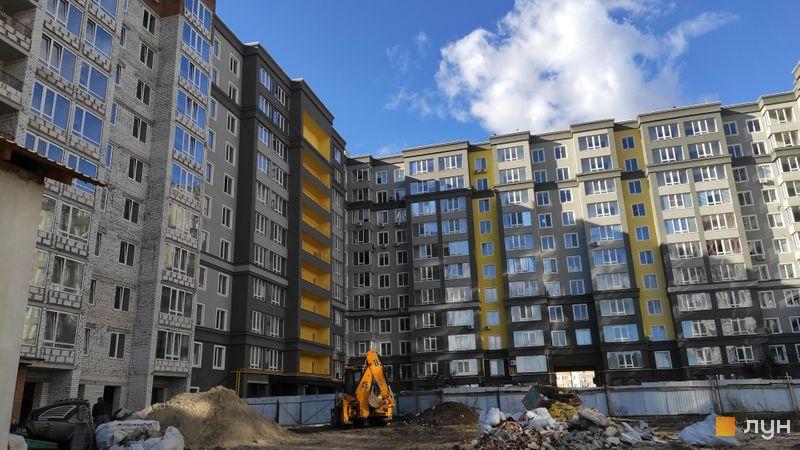Ход строительства ЖК Millennium State, 3 дом (секции А, Б, В), октябрь 2020