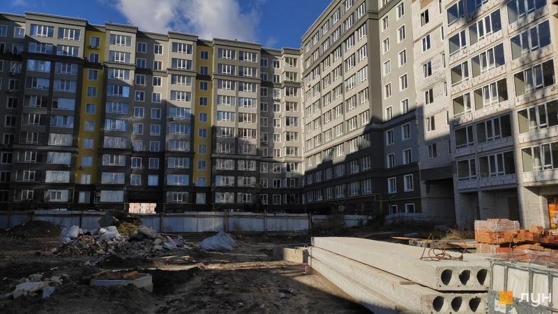 Ход строительства ЖК Millennium State, 3 дом (секции Б, В, Г), октябрь 2020