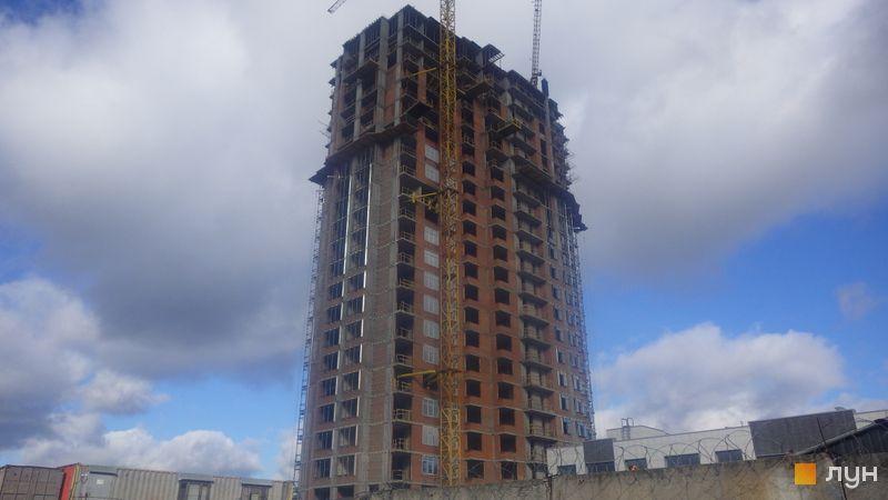 Хід будівництва ЖК RiverStone, 9 будинок, жовтень 2020