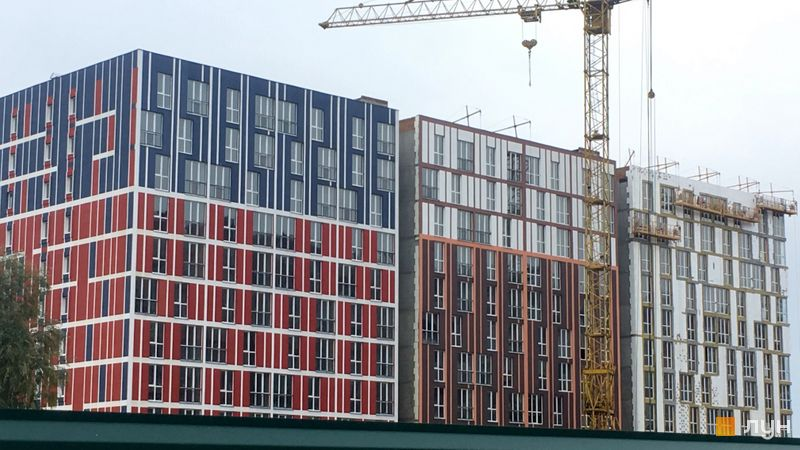 Хід будівництва ЖК iHome, 3 будинок, жовтень 2020