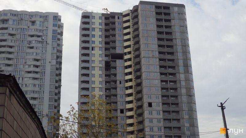 Хід будівництва ЖК Східна Брама, 3 будинок (секція 6), жовтень 2020