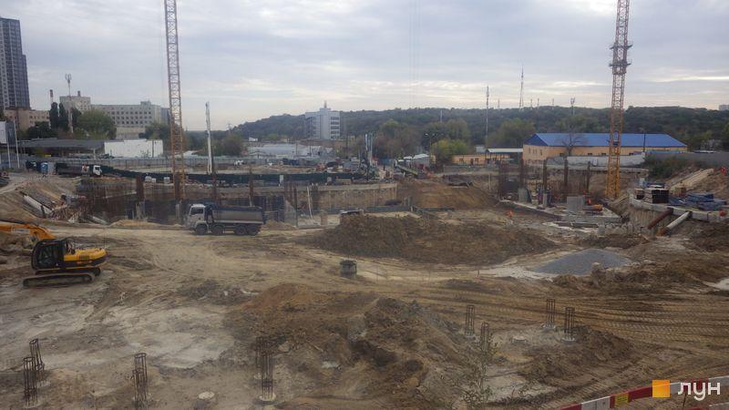 Ход строительства ЖК Fjord, , октябрь 2020