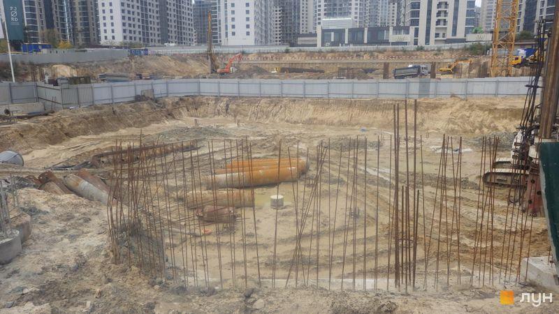 Ход строительства ЖК Delrey, , октябрь 2020
