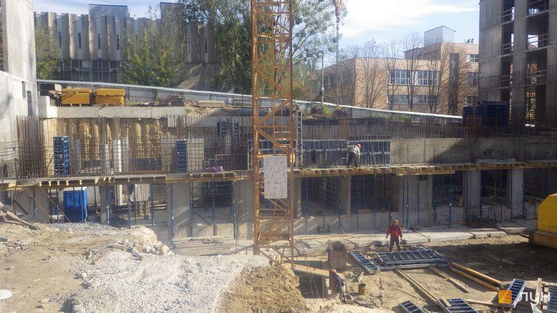 Ход строительства ЖК Stanford, 105 секция, октябрь 2020
