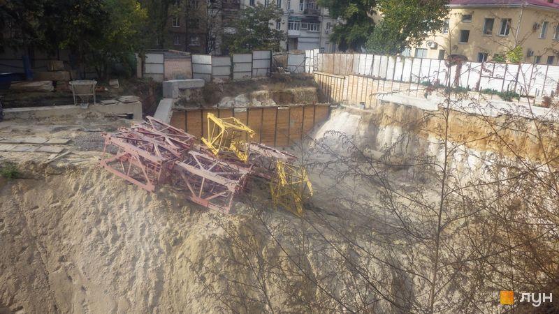 Ход строительства ЖК Washington Concept House, , октябрь 2020