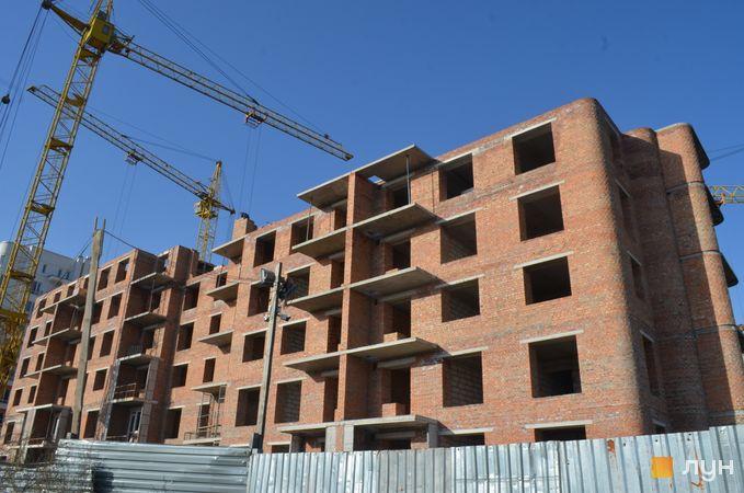 Хід будівництва ЖК на Стрийській, 6 будинок, жовтень 2020