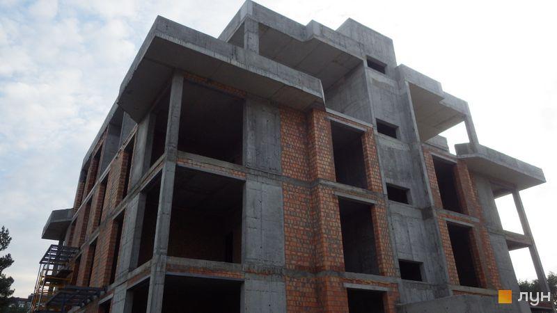 Ход строительства ЖК Клубный дом-2, Дом, октябрь 2020