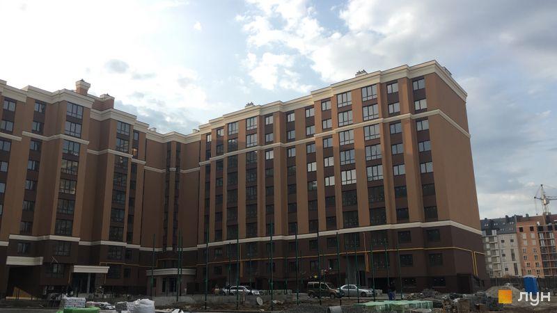 Ход строительства ЖК Софиевские Липки, 1 дом, октябрь 2020