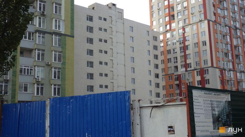 Ход строительства ЖК Грюнвальд, 7 дом, октябрь 2020
