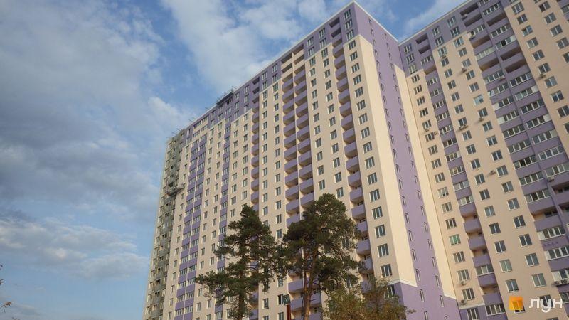 Ход строительства ЖК Атлант 2, 3 дом (секции 3, 4), октябрь 2020