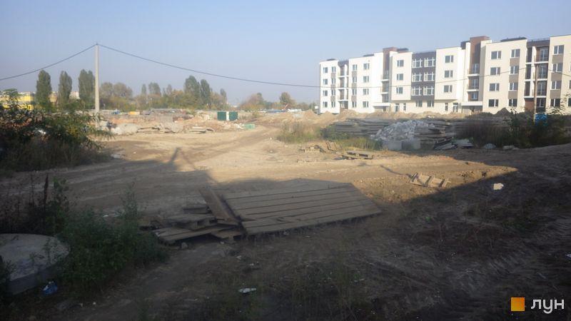 Ход строительства ЖК PARKLAND, , октябрь 2020