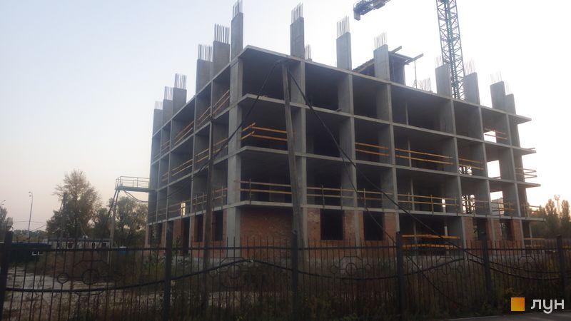 Ход строительства ЖК Эврика, 31 дом, октябрь 2020