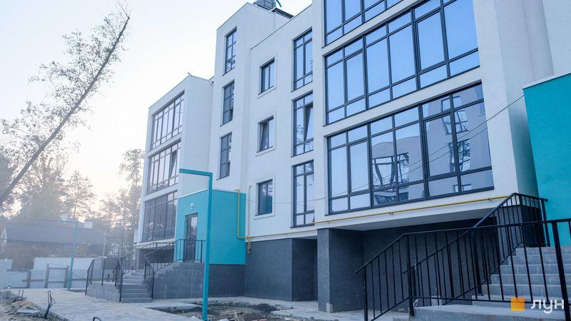Ход строительства ЖК Ибис, 3 дом, октябрь 2020