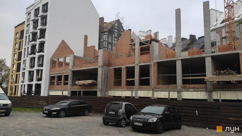 Ход строительства ЖК Белый Шоколад.Center, 11 очередь (ул. Величко, 40/1-40/5), октябрь 2020