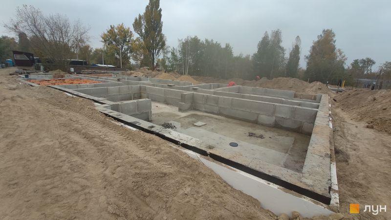 Ход строительства ЖК Белый Шоколад.Center, 12 очередь (ул. Величко, 23), октябрь 2020