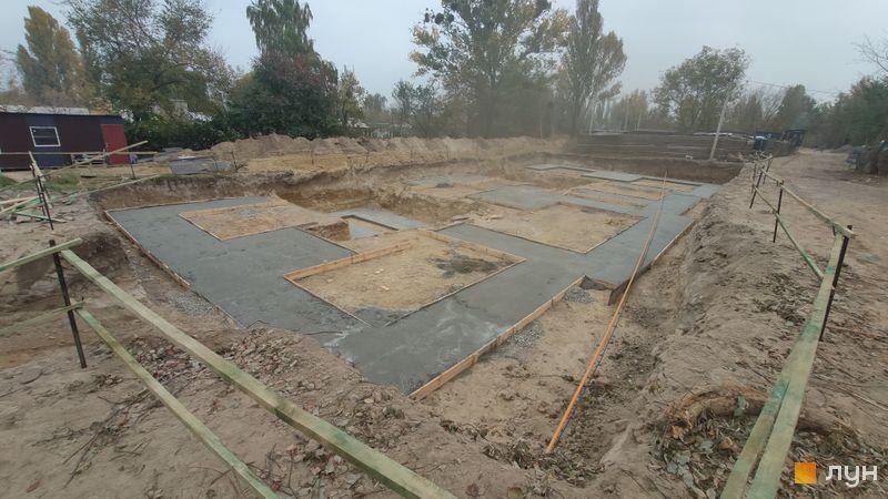 Ход строительства ЖК Белый Шоколад.Center, 12 очередь (ул. Величко, 32), октябрь 2020