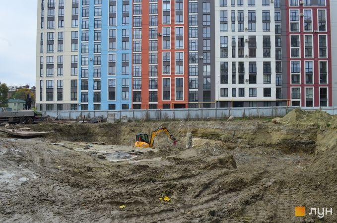 Ход строительства ЖК Семицвет, 15 дом, ноябрь 2020