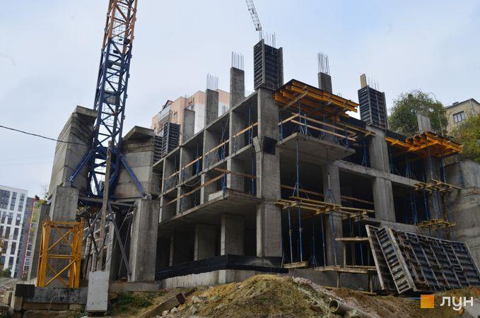 Ход строительства ЖК Семицвет, 17 дом, ноябрь 2020