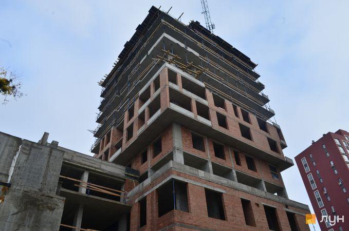 Ход строительства ЖК Семицвет, 18 дом, ноябрь 2020