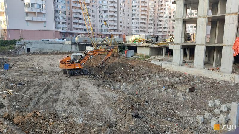 Хід будівництва ЖК Нові Черемушки, 2 будинок (секції 6, 7), листопад 2020