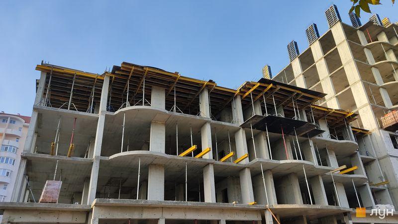 Хід будівництва ЖК Нові Черемушки, 2 будинок (секція 5), листопад 2020