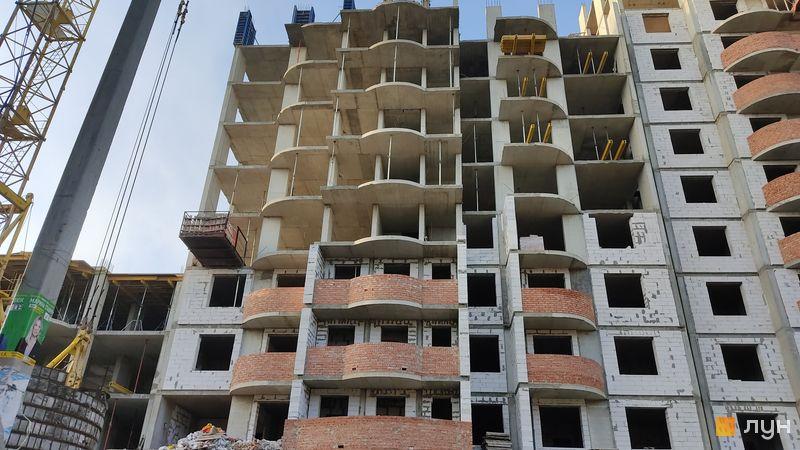 Хід будівництва ЖК Нові Черемушки, 2 будинок (секція 4), листопад 2020