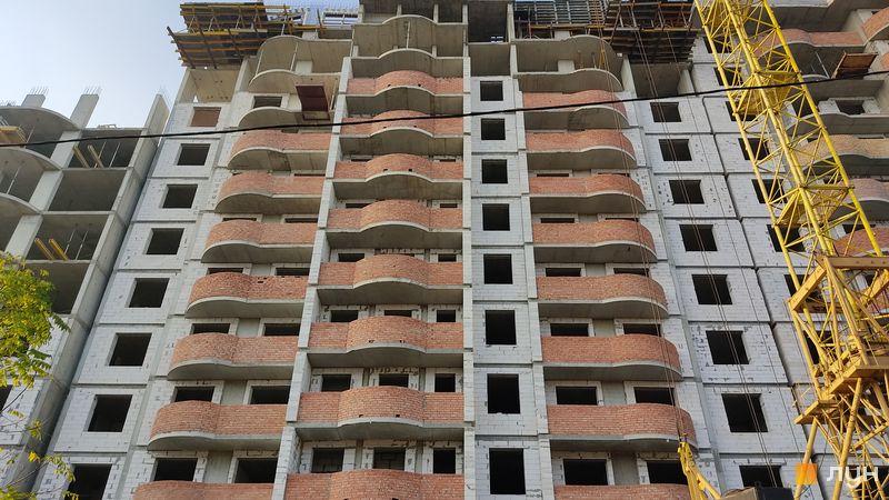 Хід будівництва ЖК Нові Черемушки, 2 будинок (секція 3), листопад 2020