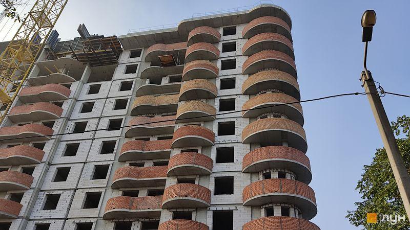 Хід будівництва ЖК Нові Черемушки, 2 будинок (секція 2), листопад 2020