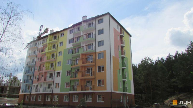Ход строительства ЖК Ягода, Дом 4, май 2016