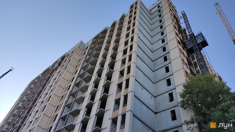 Ход строительства ЖК Прохоровский квартал, 1 дом, ноябрь 2020