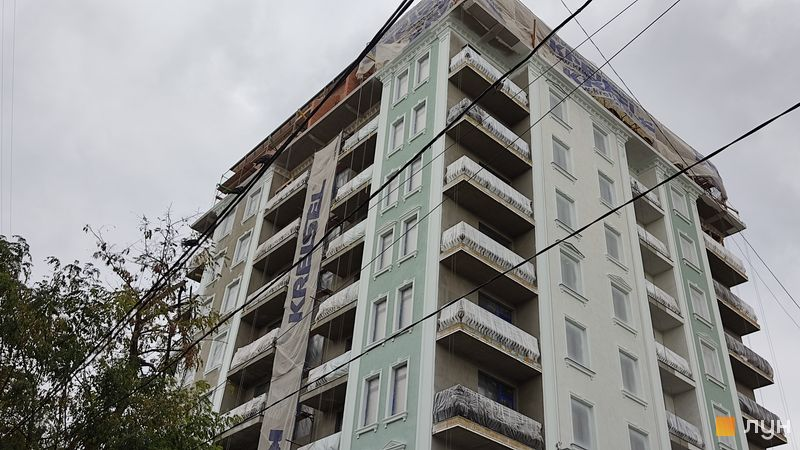 Хід будівництва Клубний будинок Pierre, Будинок, листопад 2020