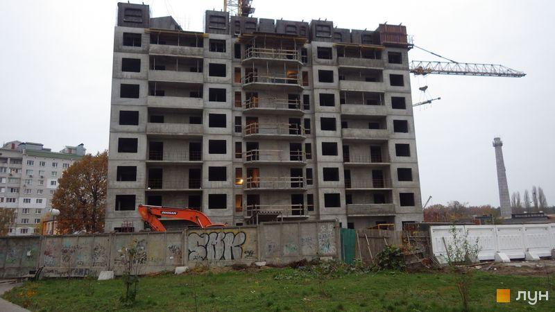 Хід будівництва ЖК Атлант (Коцюбинське), 14 будинок, листопад 2020