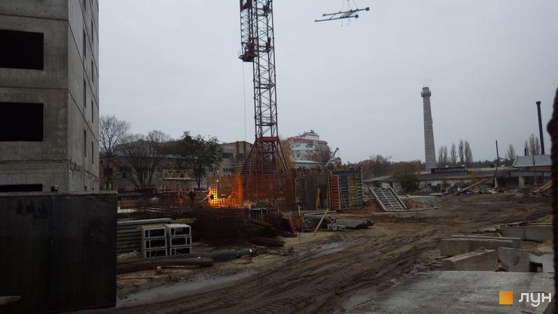 Хід будівництва ЖК Атлант (Коцюбинське), 15 будинок, листопад 2020
