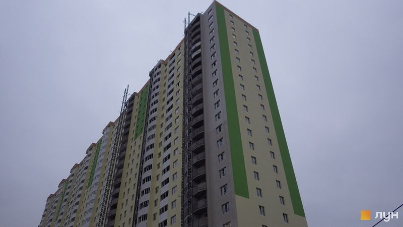 Хід будівництва ЖК Атлант (Коцюбинське), 8 будинок, листопад 2020