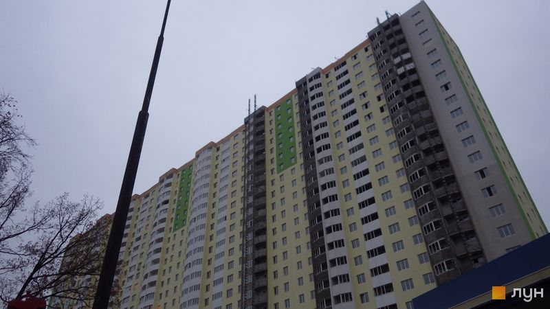 Хід будівництва ЖК Атлант (Коцюбинське), 8-11 будинки, листопад 2020