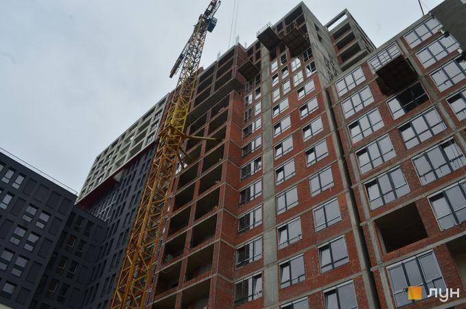 Ход строительства ЖК Вільне Місто, 3 дом, ноябрь 2020