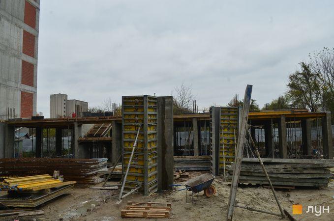 Ход строительства ЖК Вільне Місто, 6 дом, ноябрь 2020