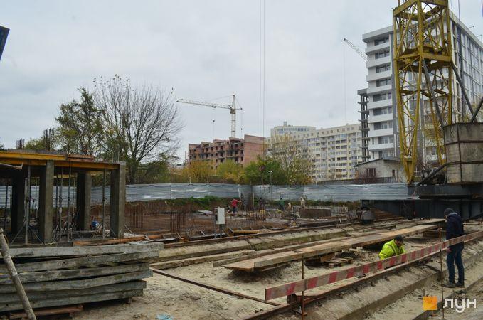 Ход строительства ЖК Вільне Місто, 7 дом, ноябрь 2020