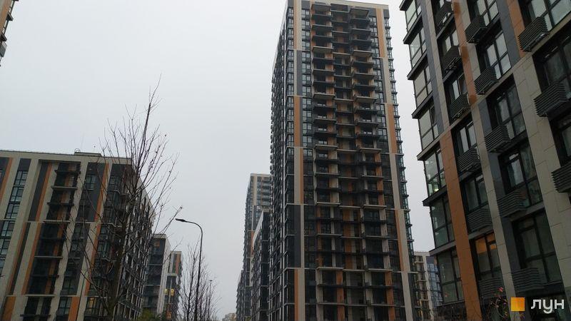 Ход строительства ЖК Французский квартал 2, 12 дом, ноябрь 2020